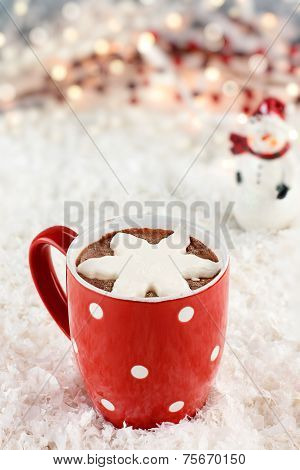 Hot Cocoa With Whipped Cream