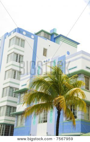 Historic Art Deco Architecture Buildings South