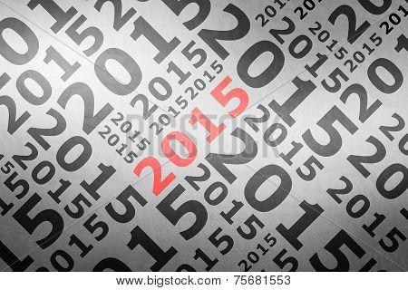 2015  Trendy Geometric Single Typographic Word