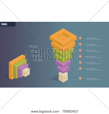 Modern Design Business Funnel