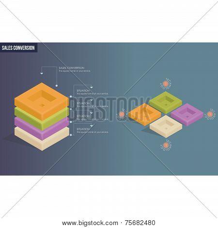Modern Design Infography