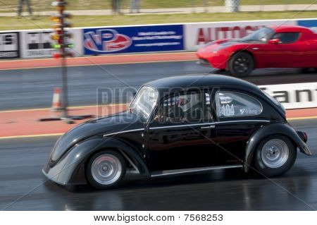 Electric Car Drag Racing
