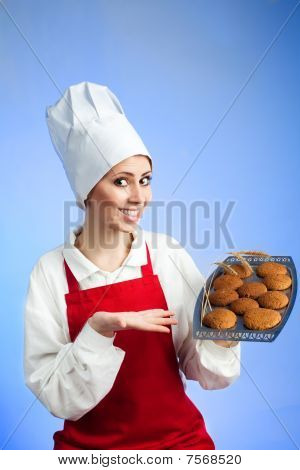 Chef Offer Tasty Cookies