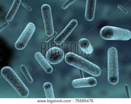 3d bacteria