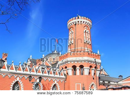 Tower Of Petrovsky Travelling Palace