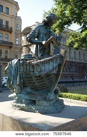 Tsar - Carpenter, Monument To Peter I, St. Petersburg