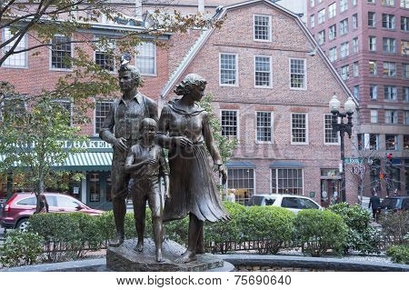 Boston Irish Femine Monument