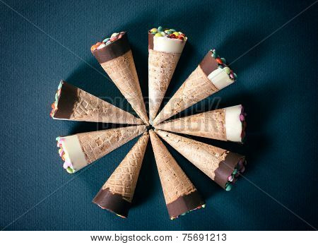 Ice Cream From Above