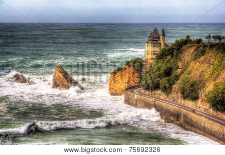 View On Villa Belza In Biarritz - France, Aquitaine
