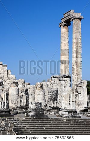 Temple Of Apollo In Didyma, Turkey