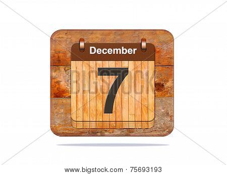 December 7.
