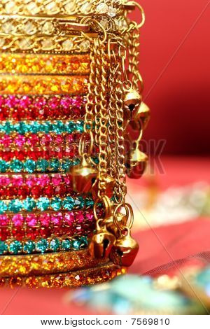 Colourful Indian Bangles.