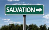 image of salvation  - Salvation creative sign - JPG