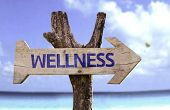 picture of persistence  - Wellness wooden sign with a beach on background  - JPG
