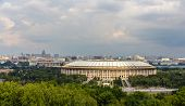 pic of gory  - View of Luzhniki sport complex in Moscow - JPG