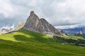 stock photo of italian alps  - Beautiful ummer l - JPG