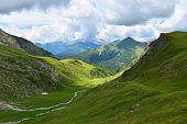foto of italian alps  - Beautiful ummer l - JPG