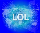 image of lol  - social concept - JPG