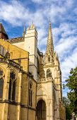picture of mary  - Bayonne Cathedral of Sainte - JPG