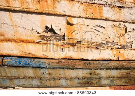 Rotting Ship Planks