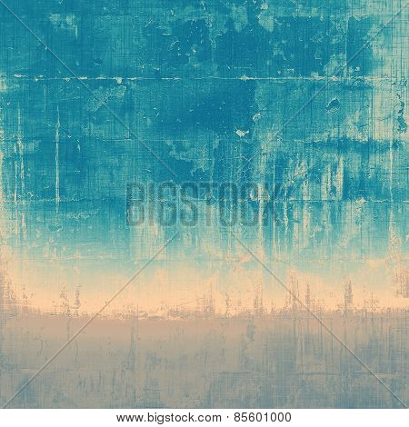 Vintage texture for background. With different color patterns: yellow (beige); gray; blue; cyan