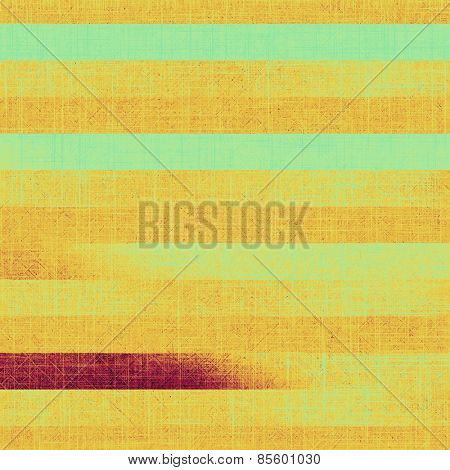 Old designed texture as abstract grunge background. With different color patterns: yellow (beige); brown; purple (violet); cyan