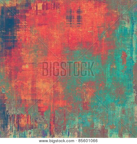 Grunge background or texture for your design. With different color patterns: yellow (beige); pink; blue; cyan