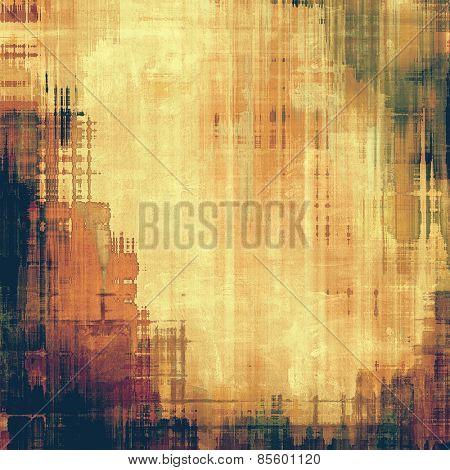 Art grunge vintage textured background. With different color patterns: yellow (beige); brown; purple (violet); black