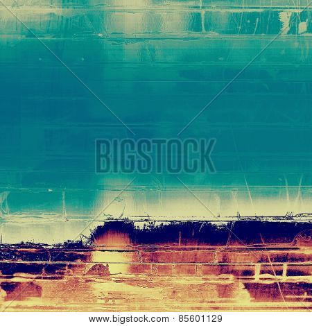 Grunge background with space for text or image. With different color patterns: yellow (beige); purple (violet); blue; cyan