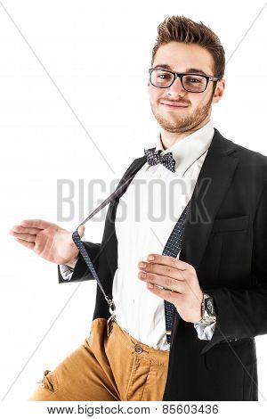 Funny Bow Tie Guy