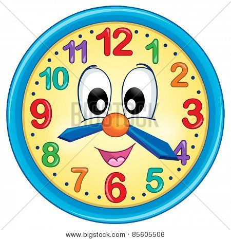 Clock theme image 5 - eps10 vector illustration.