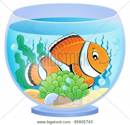 Aquarium theme image 1 - eps10 vector illustration.