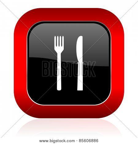 eat icon restaurant sign