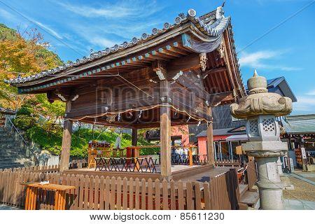 Kitano Tenmangu Shrine in Kitano District,  Kobe