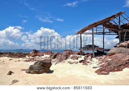 Beautiful Beach With Hut