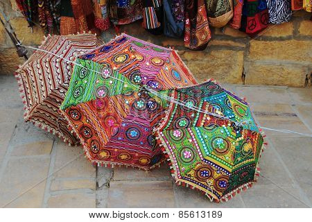 Colorful, Hand Crafted Umbrellas