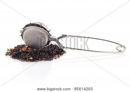Black Dry Tea With Petals