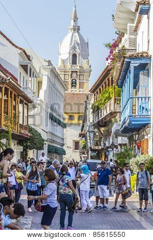 Crowdy Old Town Of Cartagena