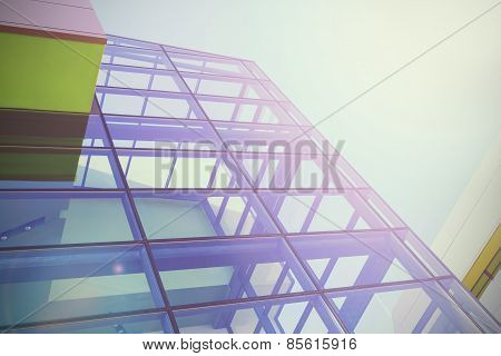 Modern Office Buildings Background.