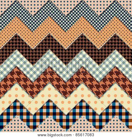 quilt zigzag