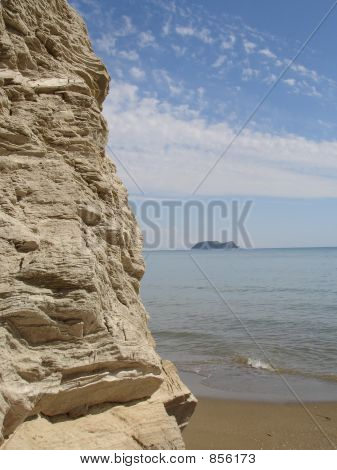Nice greek beach corner