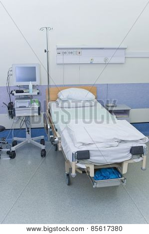 Hospital Ward With Medical Equipment