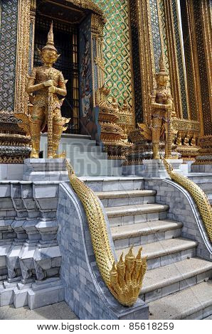 Phra Mondop Library Royal Palace Bangkok