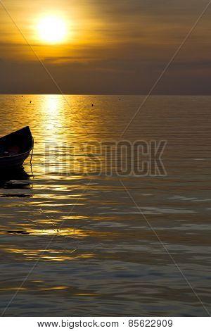 Asia   The  Kho Phangan Bay Isle Sunset Sun
