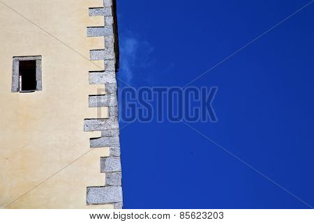Lombardy Italy  Varese Abstract   Wall Of A Curch Broke
