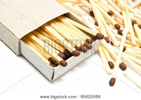 Matchbox And Some Matches
