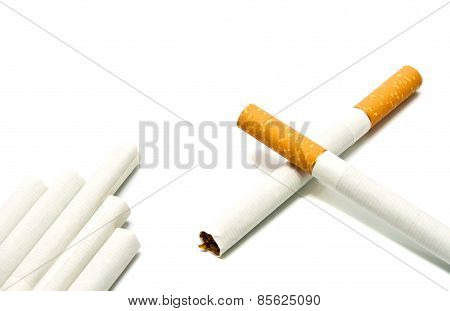 Few Cigarettes With Filter