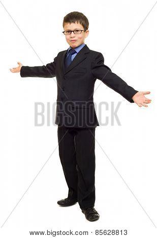 boy in suit