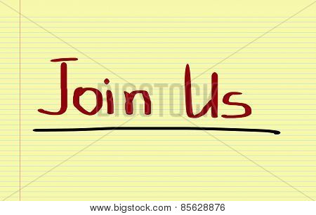 Join Us Concept