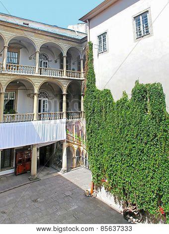 Italian Yard In Lviv, Ukraine